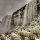 Falling Waters and Frigid Ice by Terence Russell