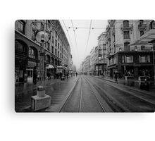 Rue de Marche Canvas Print