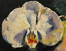 Moon Orchid by Michael Creese