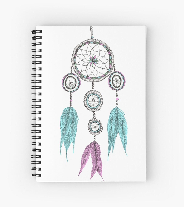 Tumblr Dreamcatcher Spiral Notebooks By Jays Designs Redbubble