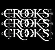 CROOKS & CASTLES OLD SCHOOL STRIKE by CROOKSCREW