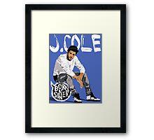 J Cole Framed Print