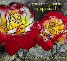My Partner - Roses by Doug Greenwald
