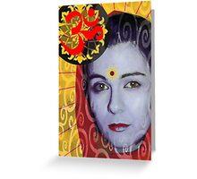 Maya Devi Greeting Card