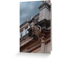 Gargoyle Greeting Card