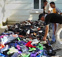 Dushanbe shoes by Marjolein Katsma