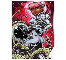 SPACE BABE 1 Poster
