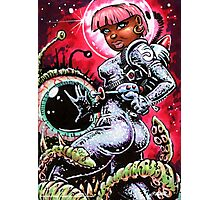 SPACE BABE 1 Photographic Print