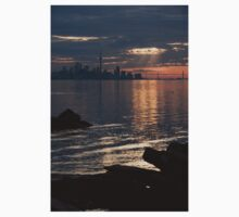 Good Morning, Toronto - the Skyline From Across Humber Bay Kids Clothes