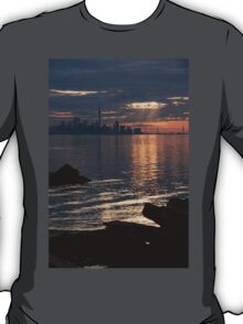 Good Morning, Toronto - the Skyline From Across Humber Bay T-Shirt