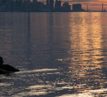 Good Morning, Toronto - the Skyline From Across Humber Bay Sticker