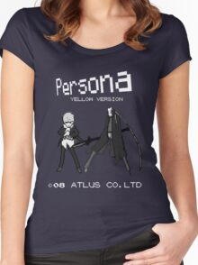 Persona Yellow Version Women's Fitted Scoop T-Shirt
