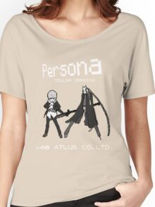 Persona Yellow Version Women's Relaxed Fit T-Shirt