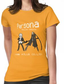 Persona Yellow Version Womens Fitted T-Shirt