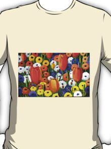 Spring Explosion  acrylic painting T-Shirt