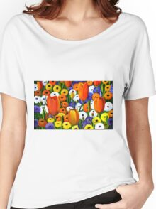 Spring Explosion  acrylic painting Women's Relaxed Fit T-Shirt