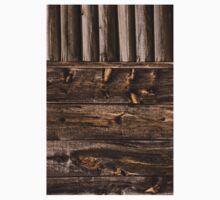 Weathered Wooden Abstracts – 4 – Vertical T-Shirt