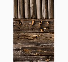 Weathered Wooden Abstracts – Four – Vertical Unisex T-Shirt