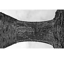 Floating Curve.  Yorkshire Dales. England. Photographic Print