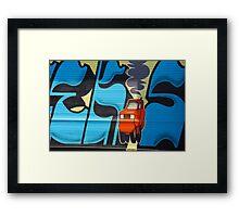 Urban Art: 404 McGuinness Blvd  Framed Print