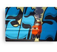 Urban Art: 404 McGuinness Blvd  Canvas Print