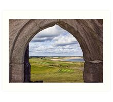From The Castle Window Art Print