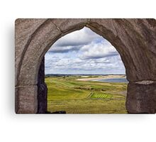 From The Castle Window Canvas Print