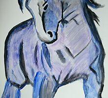 The Blue One by PrairieRose
