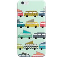 geo campers mint iPhone Case/Skin