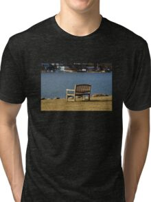 A Bench with a View Tri-blend T-Shirt