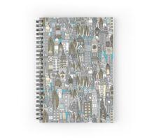 aluminium city Spiral Notebook