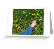 Bare Footing Greeting Card