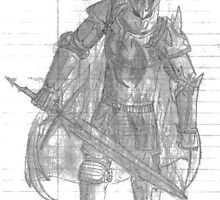 Shadow Knight by BernardsFist