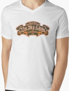 BioShock Infinite – The Sky-Lines of Columbia Sign Mens V-Neck T-Shirt