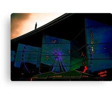 Dark Electric : Reflections Canvas Print