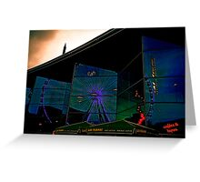 Dark Electric : Reflections Greeting Card