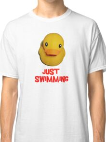 Life is just swimming Classic T-Shirt