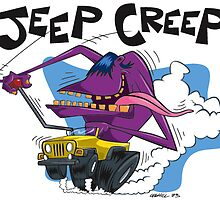 Jeep Creep by CoghillCartoon