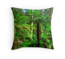 Mount Lofty Botanic Gardens, South Australia Throw Pillow