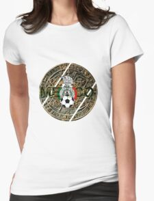 Mexico Aztec Womens Fitted T-Shirt