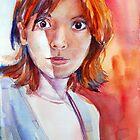 Lara, The Girl with Deep Dark Eyes by Yevgenia Watts