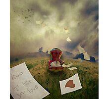 Words of wisdom Photographic Print