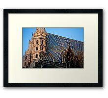 A Church in Vienna Framed Print