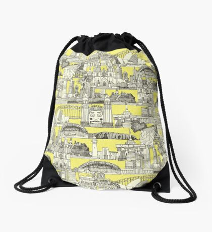 AUSTRALIA toile de jouy Drawstring Bag