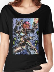 SPACE BABE VS SHADOW ALIENS Women's Relaxed Fit T-Shirt