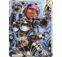 SPACE BABE VS SHADOW ALIENS iPad Case/Skin