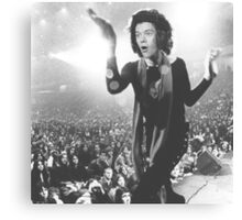 Harry Styles / Mick Jagger - Mashup Canvas Print