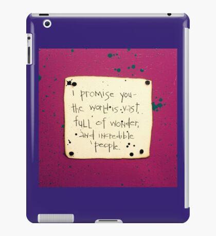 I Promise You #2 iPad Case/Skin