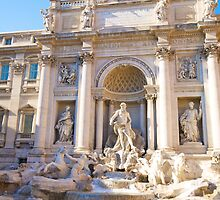 Trevi Fountain by mateo