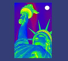 Lady Liberty in the Moonlight Unisex T-Shirt